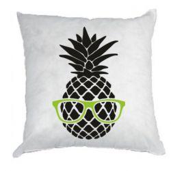 Подушка Pineapple with glasses