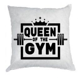 Подушка Queen Of The Gym