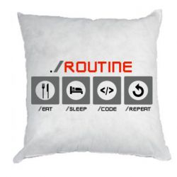 Подушка Routine code
