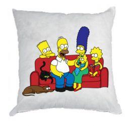 Подушка Simpsons At Home