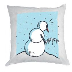 Подушка Snowman. It's Cold!