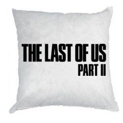 Подушка The last of us part 2 logo