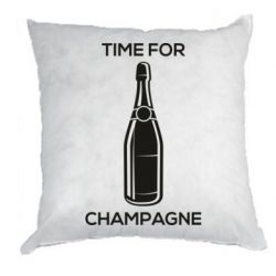 Подушка Time for champagne