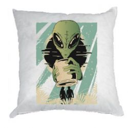 Подушка Alien with a can