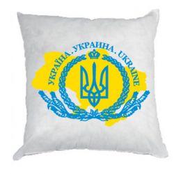 Подушка Україна Мапа