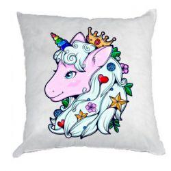 Подушка Unicorn Princess