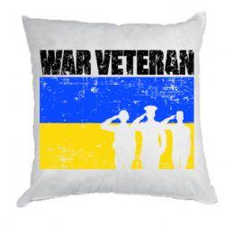 Подушка War veteran