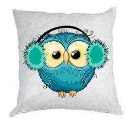 Подушка Winter owl