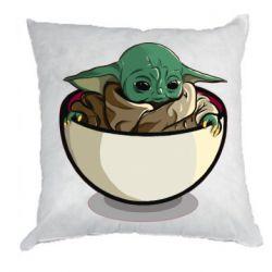 Подушка Йода