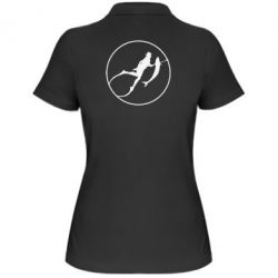 Женская футболка поло Подводная охота - FatLine