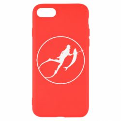 Чехол для iPhone 7 Подводная охота - FatLine