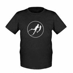 Детская футболка Подводная охота - FatLine