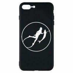 Чехол для iPhone 8 Plus Подводная охота - FatLine