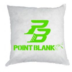 Подушка Point Blank logo - FatLine