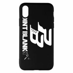 Чехол для iPhone X Point Blank logo - FatLine