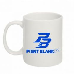 Кружка 320ml Point Blank logo - FatLine