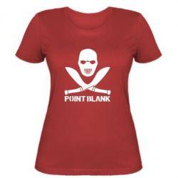 Женская футболка Point Blank - FatLine