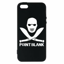 Чехол для iPhone5/5S/SE Point Blank - FatLine