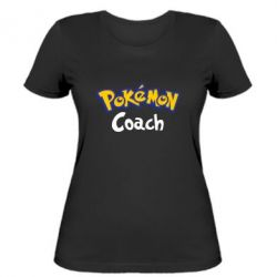 Жіноча футболка Pokemon Coach