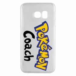 Чохол для Samsung S6 EDGE Pokemon Coach