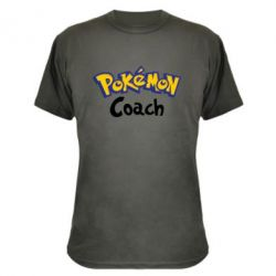 Камуфляжна футболка Pokemon Coach