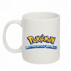 Кружка 320ml Pokemon Gotta catch 'em all - FatLine