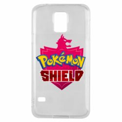 Чохол для Samsung S5 Pokemon shield
