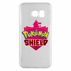 Чохол для Samsung S6 EDGE Pokemon shield