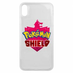Чохол для iPhone Xs Max Pokemon shield