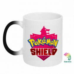 Кружка-хамелеон Pokemon shield