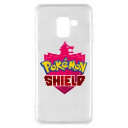 Чохол для Samsung A8 2018 Pokemon shield