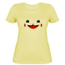 Женская футболка Pokemon Smile