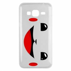 Чохол для Samsung J3 2016 Pokemon Smile