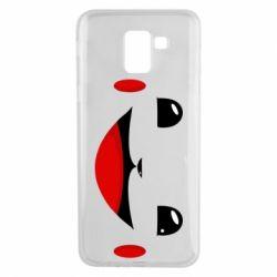 Чохол для Samsung J6 Pokemon Smile