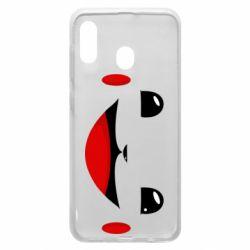 Чохол для Samsung A20 Pokemon Smile