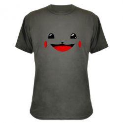 Камуфляжная футболка Pokemon Smile - FatLine