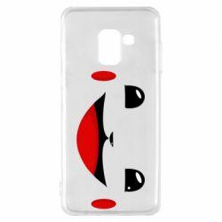 Чохол для Samsung A8 2018 Pokemon Smile