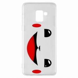 Чохол для Samsung A8+ 2018 Pokemon Smile