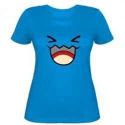 Женская футболка Pokemon Smiling