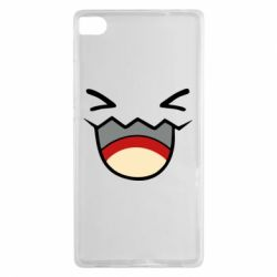 Чехол для Huawei P8 Pokemon Smiling - FatLine
