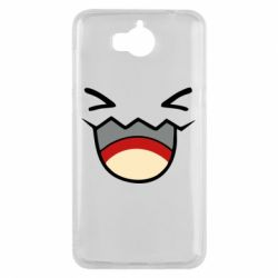 Чехол для Huawei Y5 2017 Pokemon Smiling - FatLine