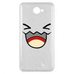 Чехол для Huawei Y7 2017 Pokemon Smiling - FatLine