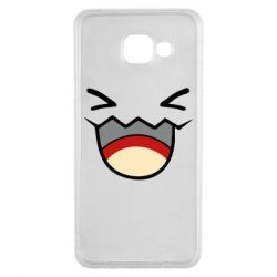 Чехол для Samsung A3 2016 Pokemon Smiling - FatLine