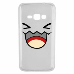 Чехол для Samsung J1 2016 Pokemon Smiling - FatLine