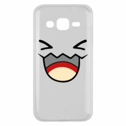 Чехол для Samsung J2 2015 Pokemon Smiling - FatLine