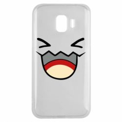 Чехол для Samsung J2 2018 Pokemon Smiling - FatLine