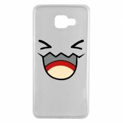 Чехол для Samsung A7 2016 Pokemon Smiling - FatLine