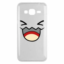 Чехол для Samsung J3 2016 Pokemon Smiling - FatLine