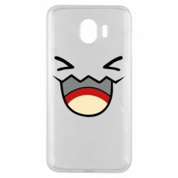 Чехол для Samsung J4 Pokemon Smiling - FatLine