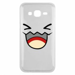 Чехол для Samsung J5 2015 Pokemon Smiling - FatLine